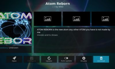 Atom Reborn Kodi Add-On