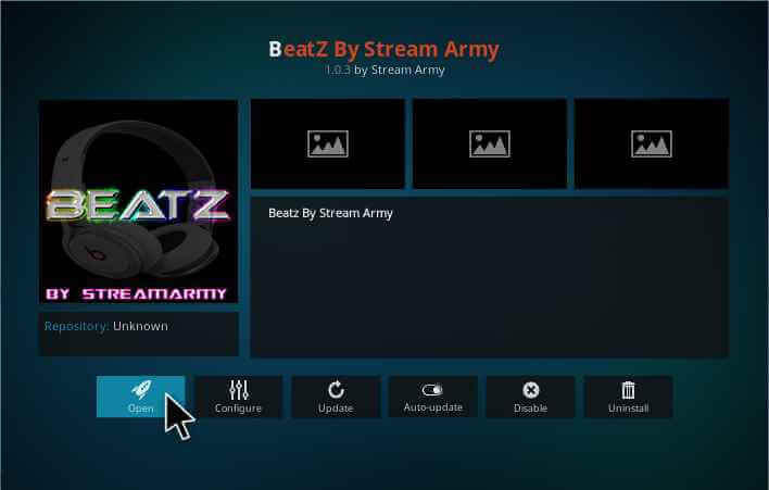 Beatz Kodi Add-on