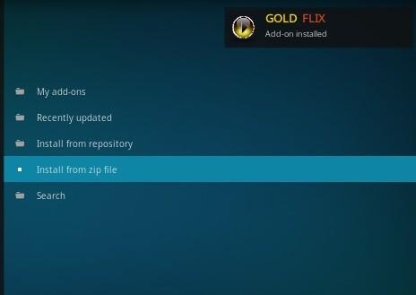 Gold Flix Kodi Addon