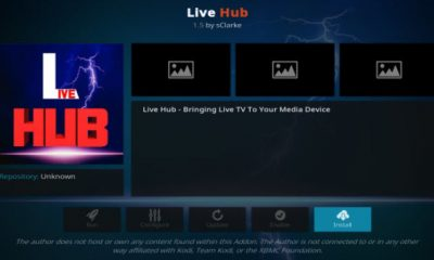Live Hub Kodi Add-On