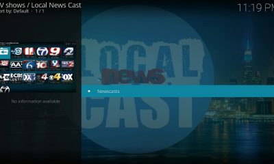 Local News Cast Kodi Add-On
