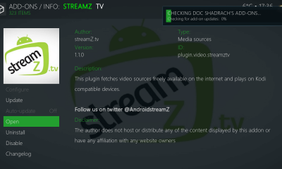 Streamz TV Kodi Add-On