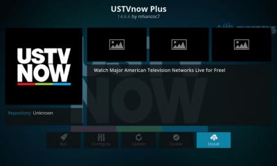USTVNow Kodi Add-On