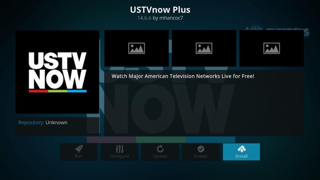 USTVNow Kodi Addon - Stream Live Television on Kodi - Techy Bugz