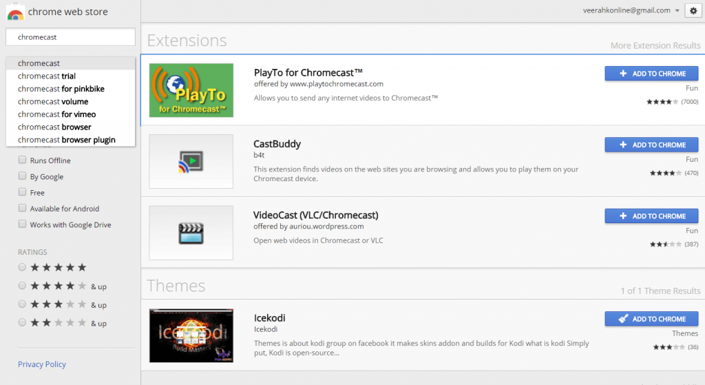 How to Install Chromecast Extension On Google Chrome - Techy Bugz