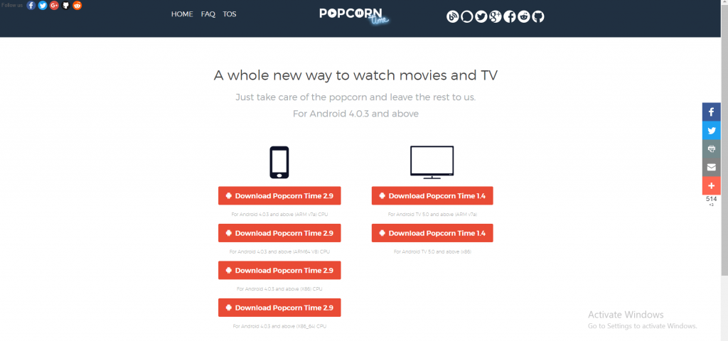 How to Install Popcorn Time on Smart TV - Techy Bugz
