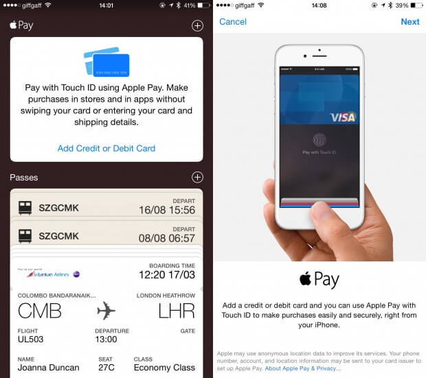 Use Apple Pay Within apps