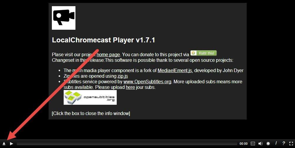 Connect Popcorn Time for Chromecast onDesktop