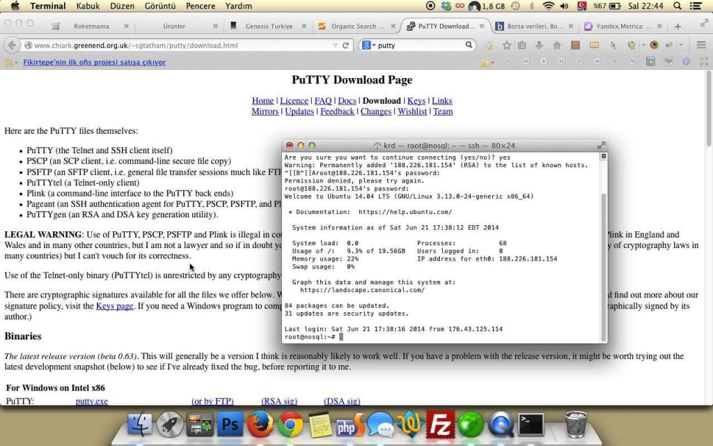 How to Install PuTTY for Mac