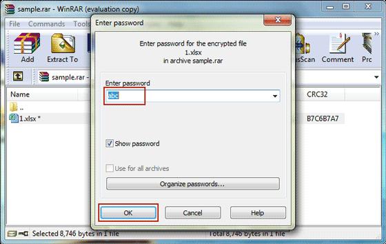 How to Unlock WinRAR Password