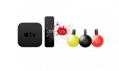 Apple TV vs Chromecast