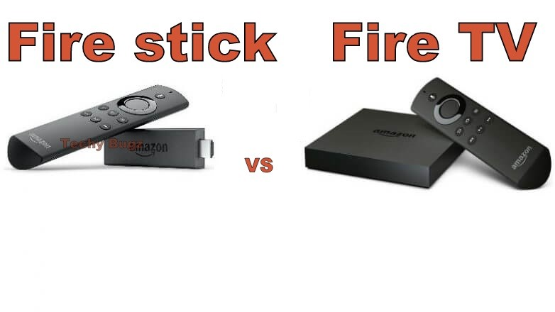 Fire stick vs Fire TV