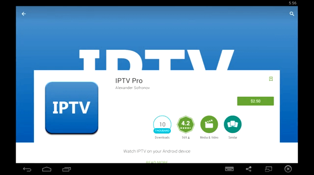 Features of IPTV Pro Apk