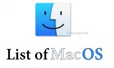 List of Mac OS