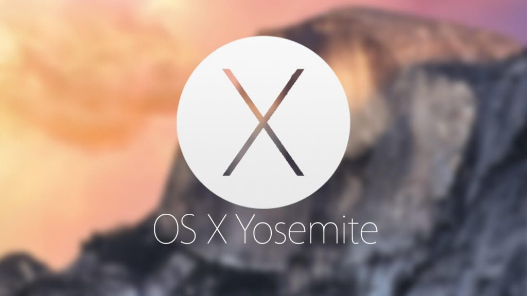 Version 10.10 Yosemite