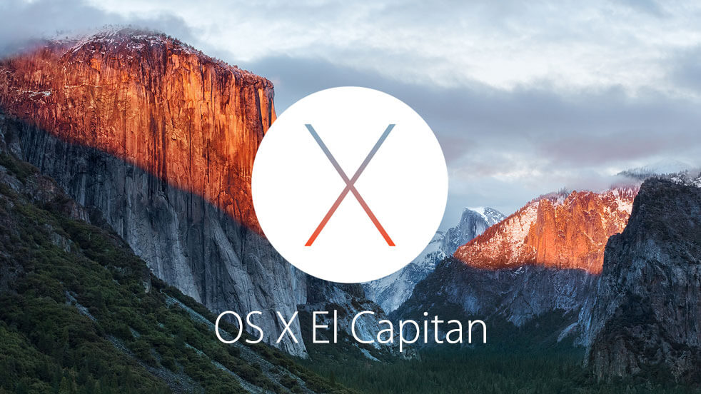Version 10.11 El Capitan