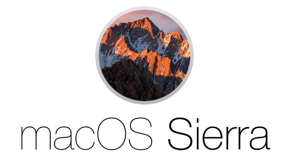 Version 10.12 Sierra