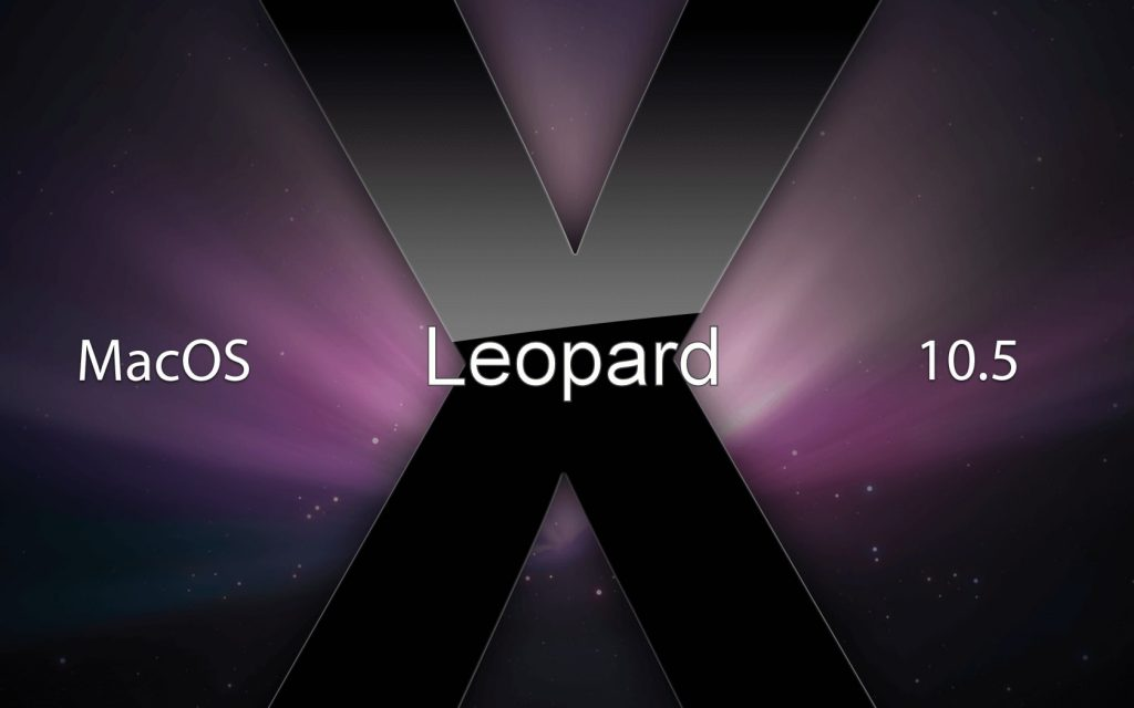 Version 10.5 Leopard