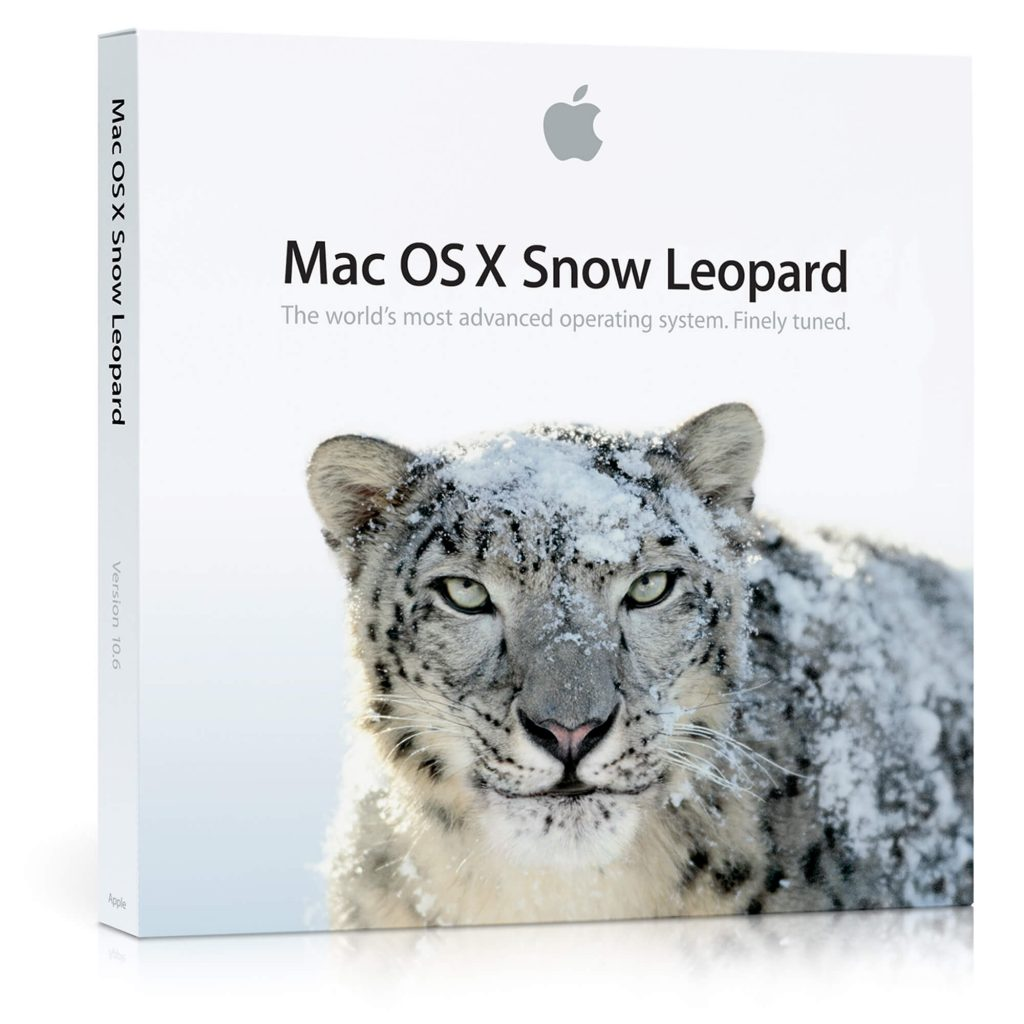 Version 10.6 Snow Leopard