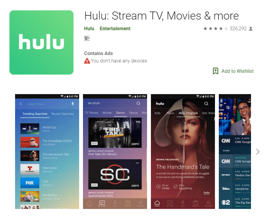 Hulu Apk Download - Steps to Download Hulu for Android