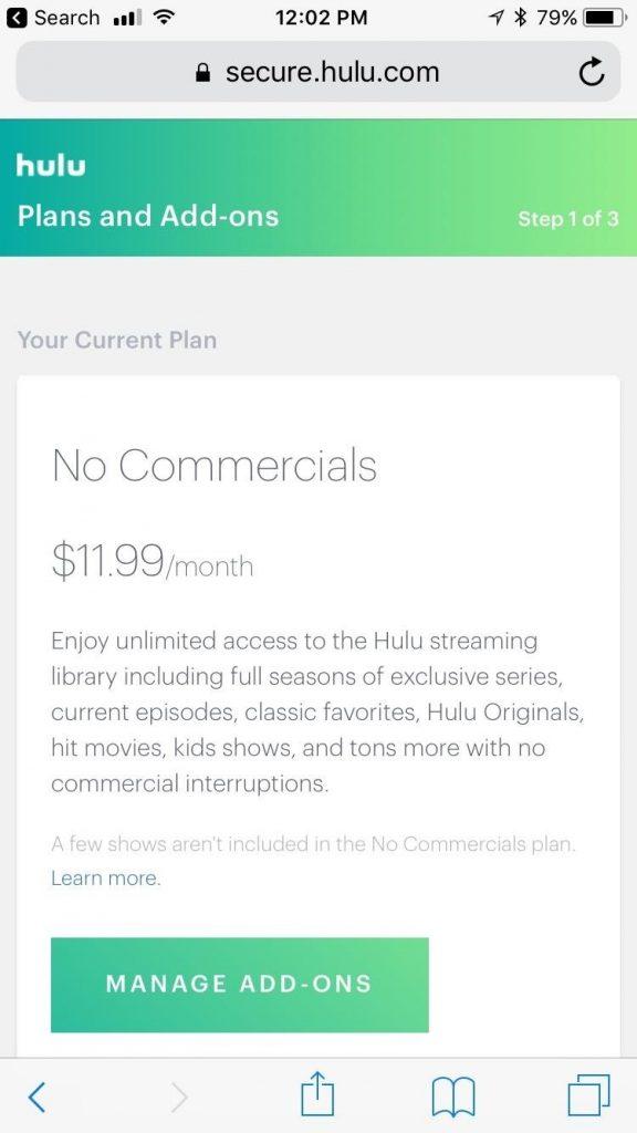 Hulu Subscription