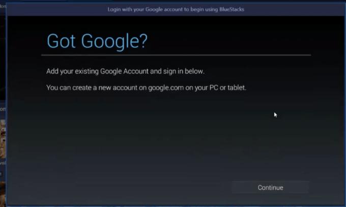 Configure Google