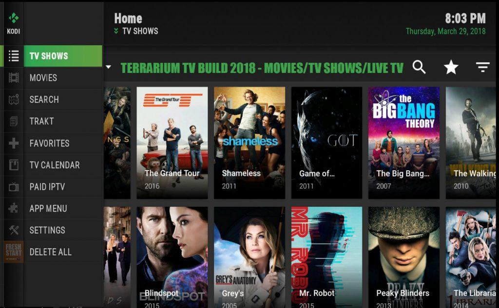 Terrarium TV for Windows