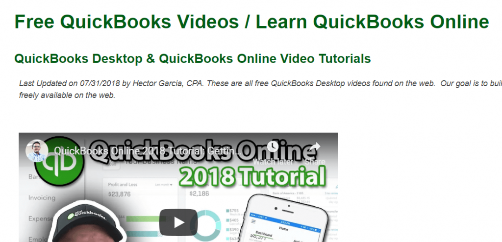 QuickBooks Tutorial - Learn How To Use QuickBooks - Techy Bugz