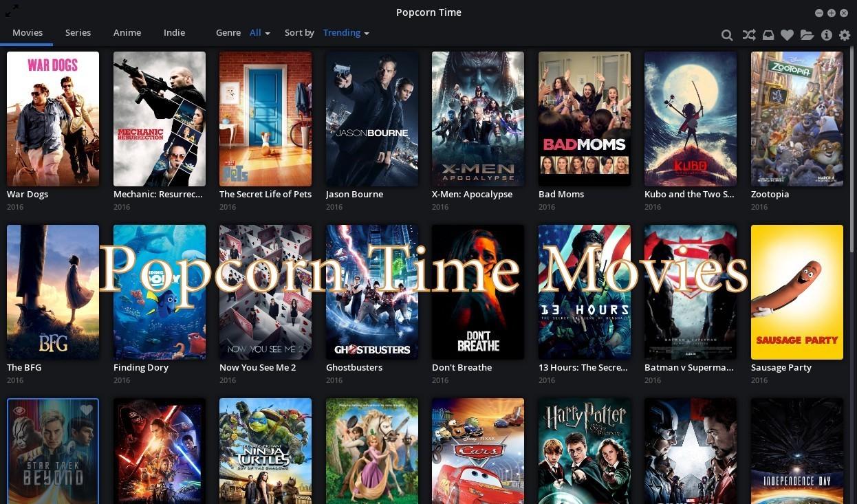 Popcorn Time Movies