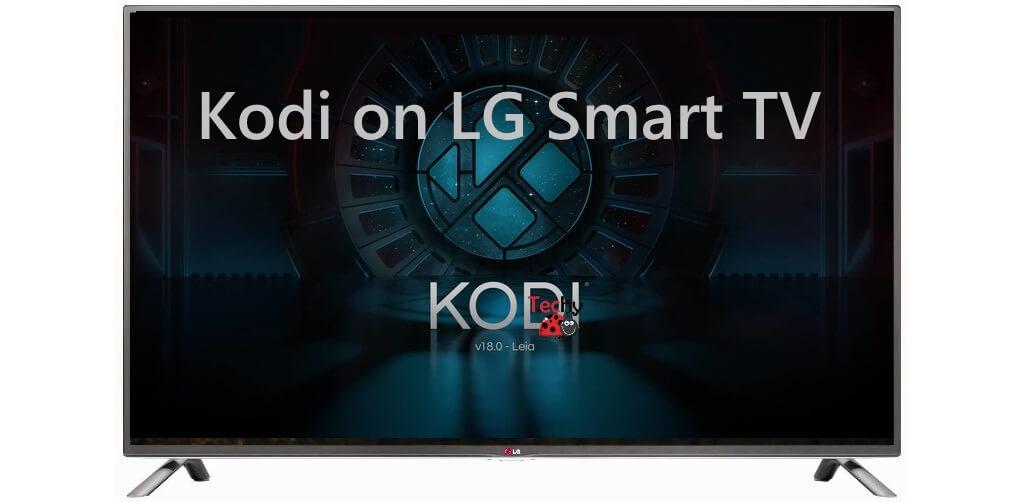 Kodi on LG Smart TV