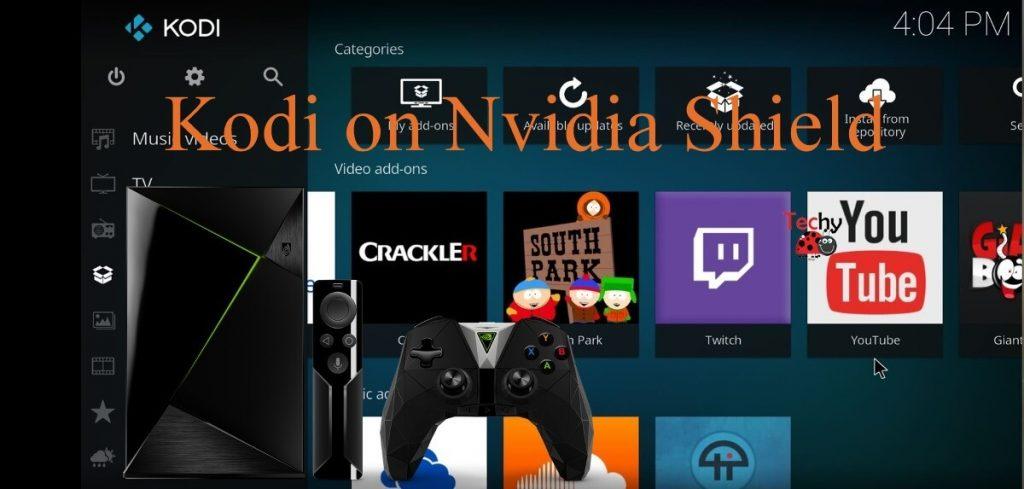 Kodi on Nvidia Shield