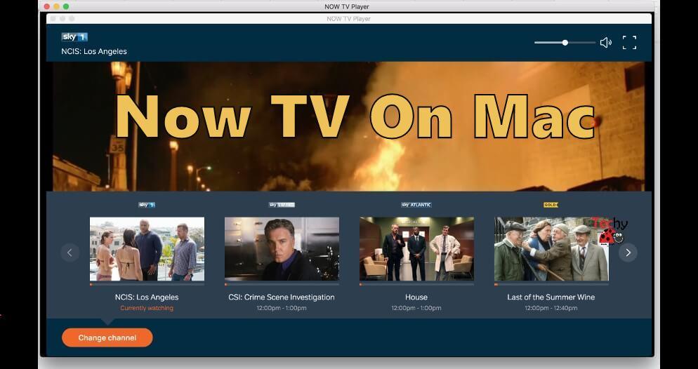 Now TV On Mac