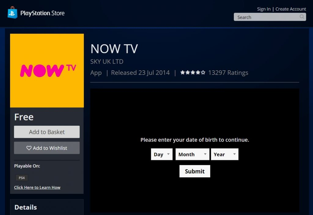 Tv Now Ps4