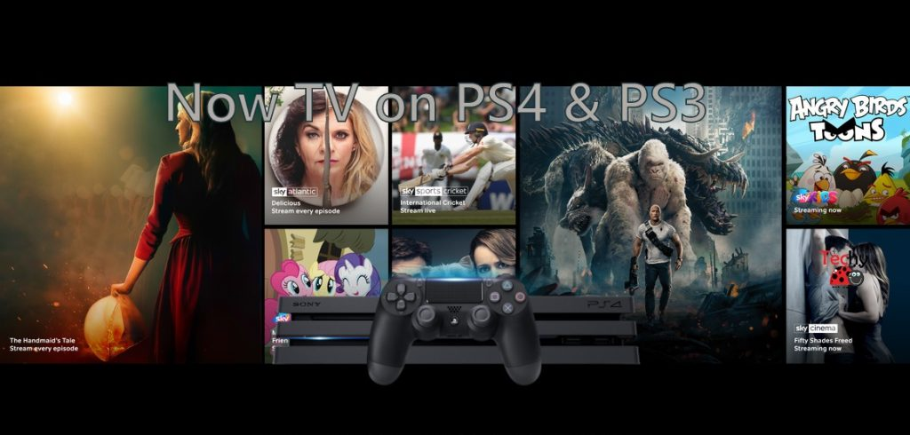 Now TV on PS4 & PS3
