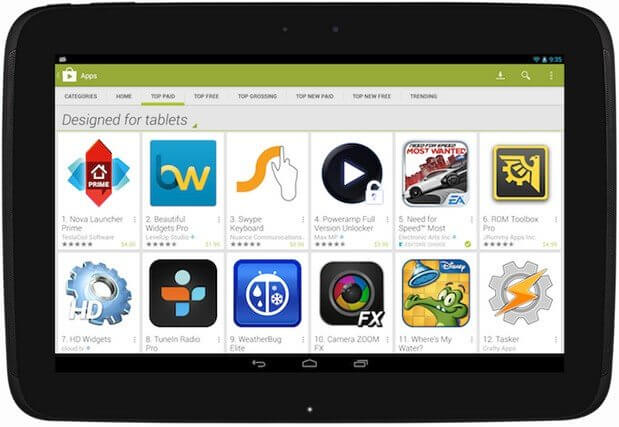 Google Play on Fire Tablet