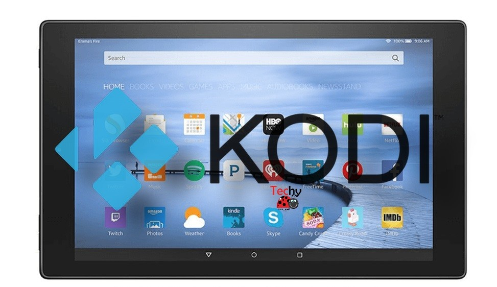 Kodi on Amazon Fire Tablet