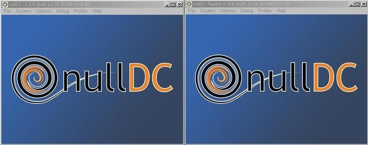 the NullDC Emulator