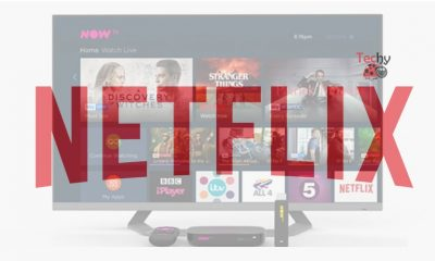 Netflix on Now TV Box