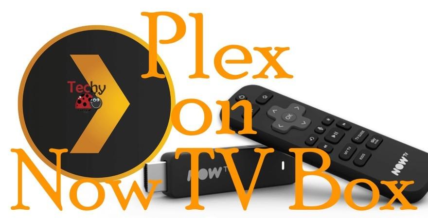 Plex on Now TV Box